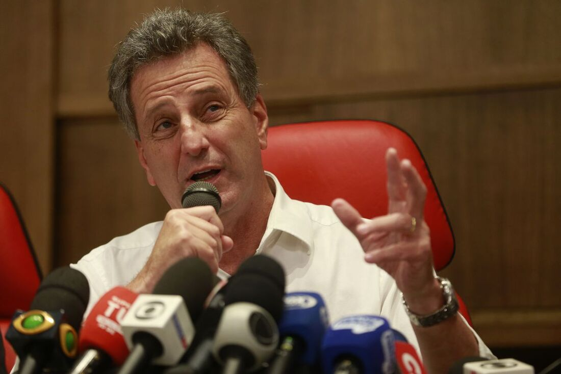 Presidente do Flamengo, Rodolfo Landim