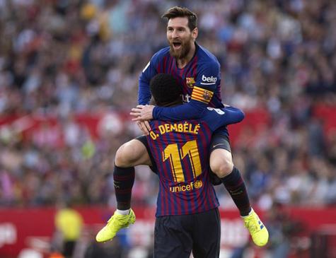 Barcelona de Messi está perto de mais um título espanhol