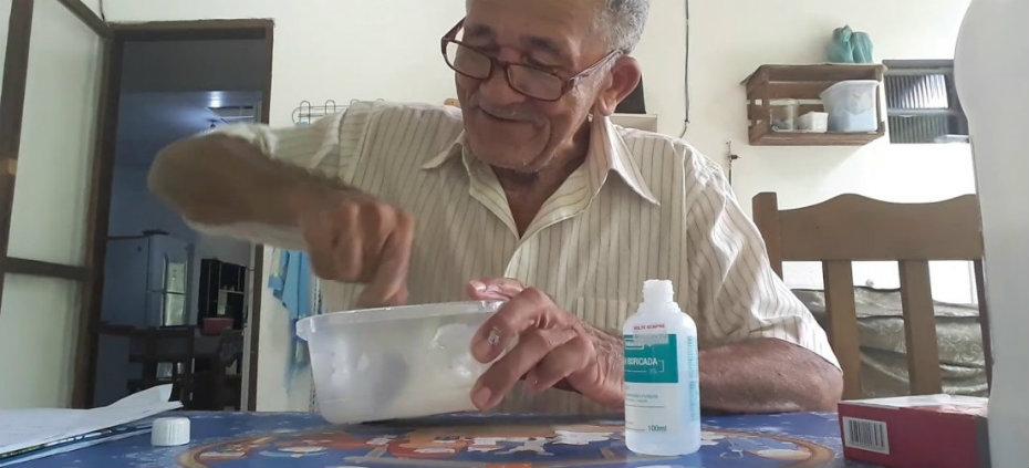 Nilson Izaias, o Papinho, em vídeo sobre 'Slime'