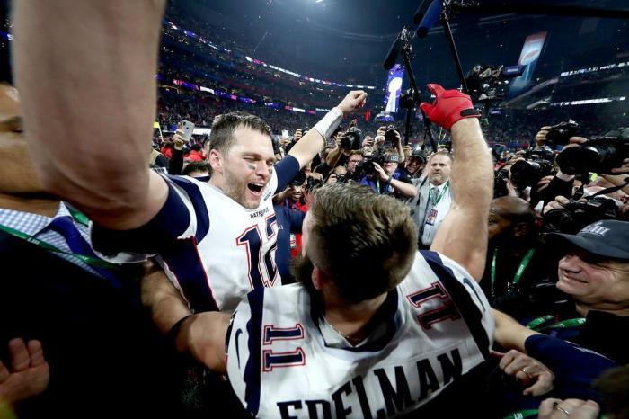 Atual campeão, New England Patriots de Tom Brady é mais uma vez o time a ser batido