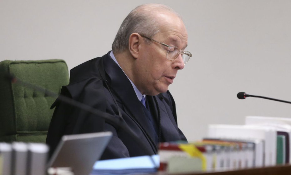 Ministro do Supremo Tribunal Federal (STF) Celso de Mello