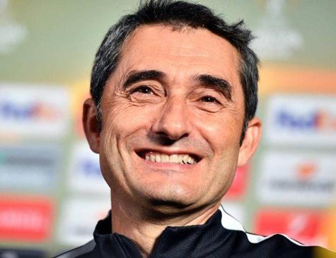 Ernesto Valverde prorrogou seu vínculo com o Barcelona