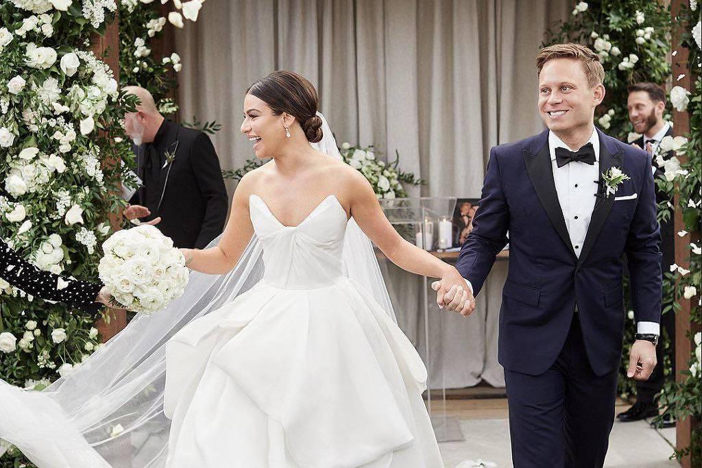 Lea Michele se casa com Zandy Reich
