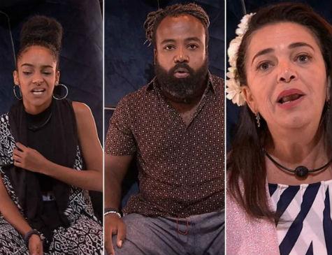 Gabriela, Rodrigo e Tereza disputam 'paredão fake'