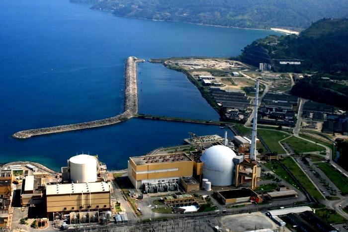 Usinas nucleares Angra 1 e 2