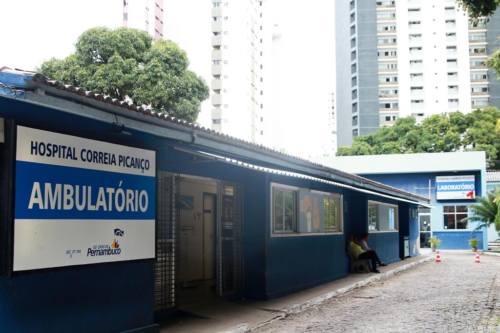 Hospital Correia Picanço, no Recife