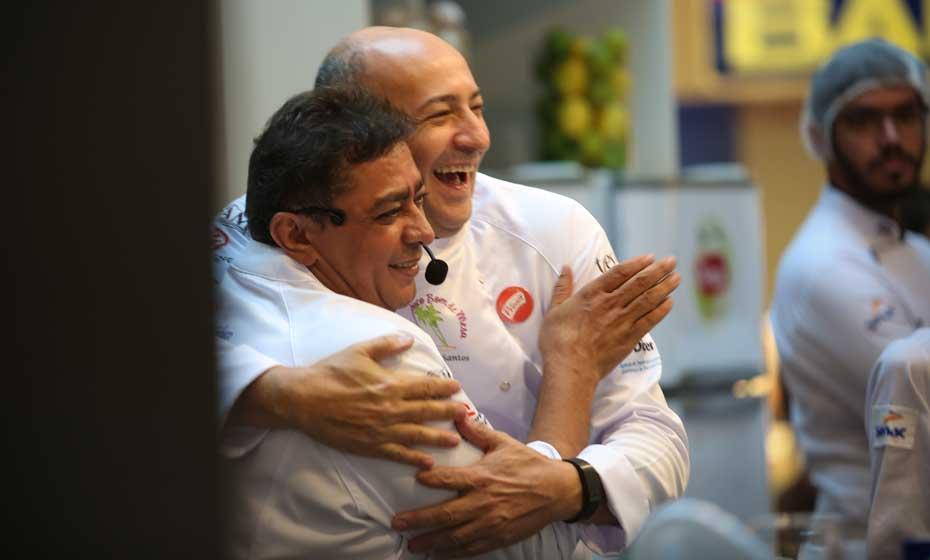 Batista e César: colegas de longa data