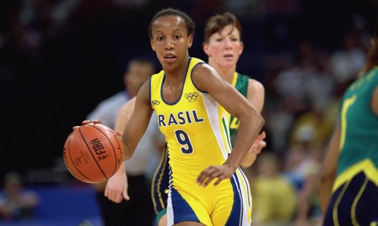 Janeth Arcain, ex-jogadora de basquete da seleção brasileira