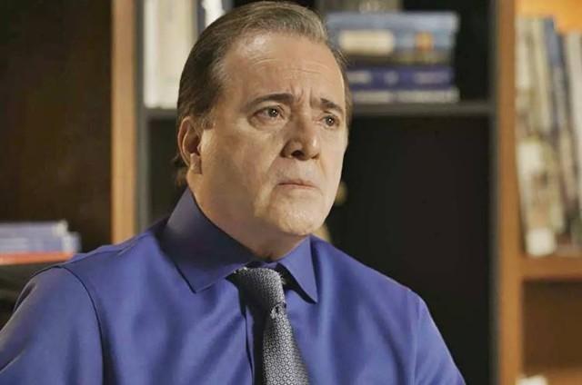 """Tony Ramos é Olavo em """"O Sétimo Guardião"""""""
