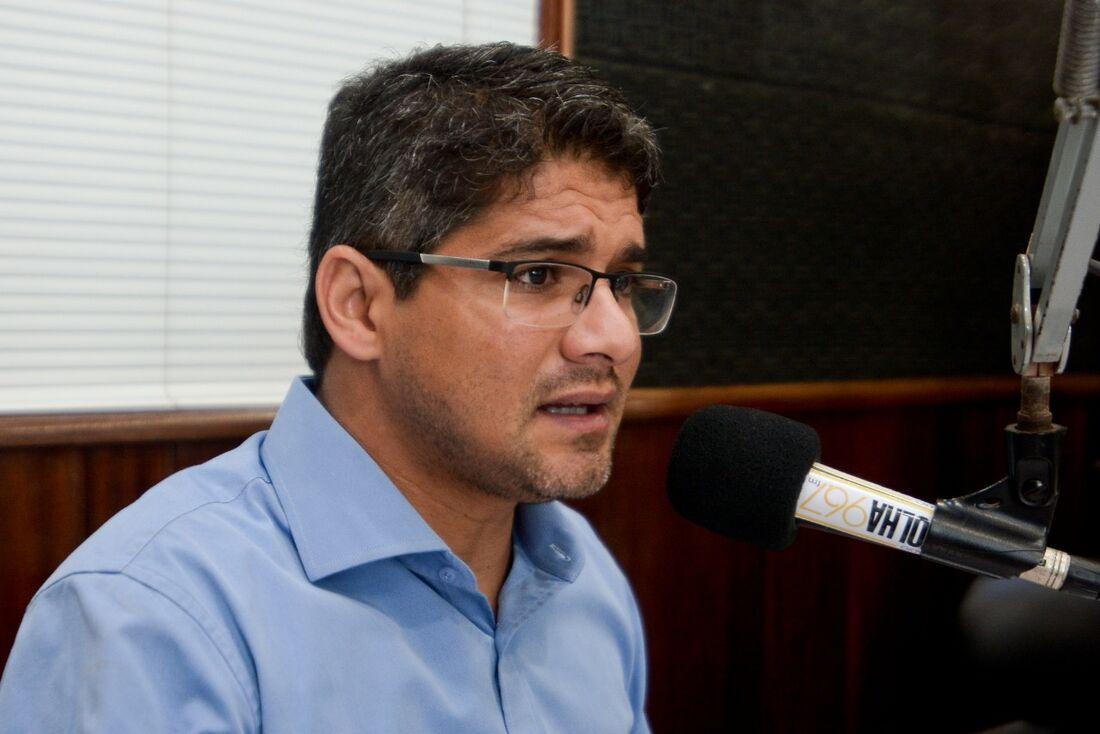 Vereador Renato Antunes é o líder da oposição na Câmara Municipal do Recife