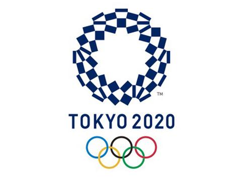 Logo oficial dos Jogos Olímpicos de Tóquio-2020