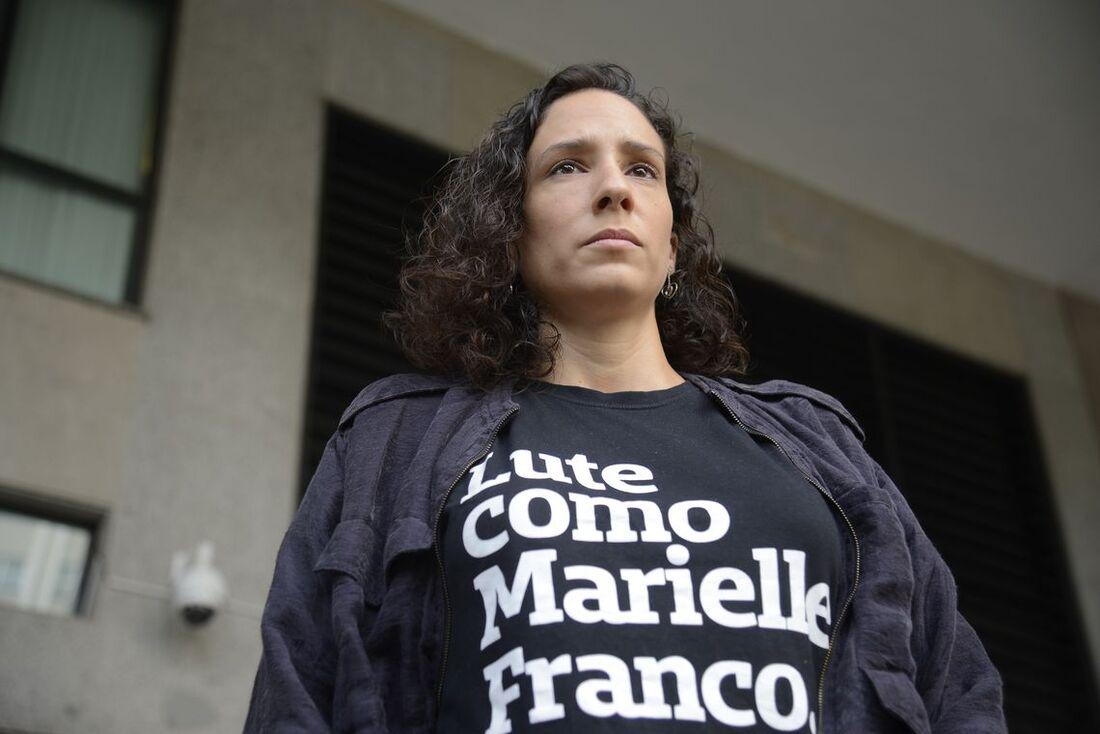 Mônica Benício, viúva de Marielle Franco