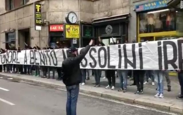 Ala mais radical da torcida da Lazio se envolveu em nova polêmica