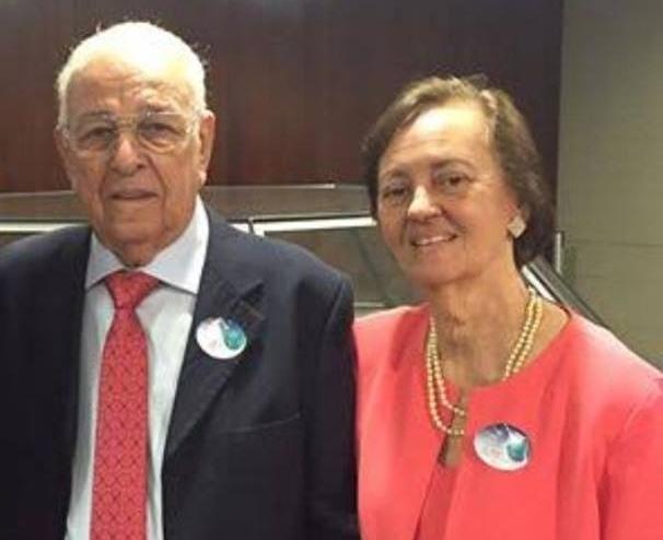 Pastor Gedelti V. T. Gueiros e Irmã Jurama Barros Gueiros