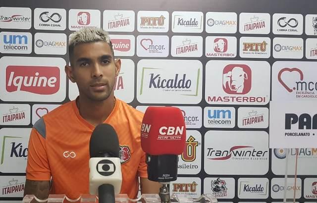 Atacante teve atuação elogiada na vitória sobre o Fluminense