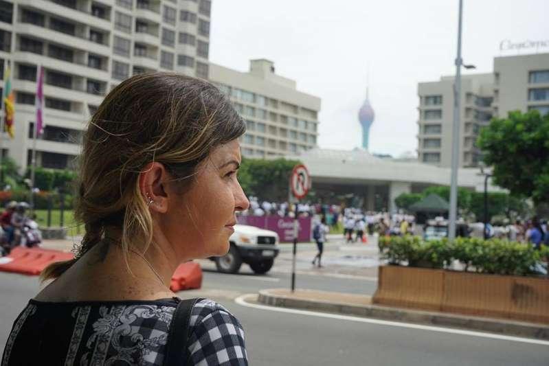 Alice Ferreira Souza, de 35 anos, estava em Colombo, no Sri Lanka, no dia dos atentados terroristas