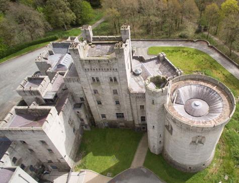 Gosford Castle, na cidade de Martkethil.