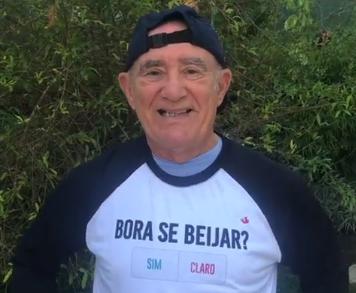 O humorista Renato Aragão