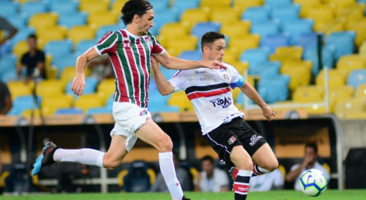 Fluminense x Santa Cruz no Maracanã, pela Copa do Brasil