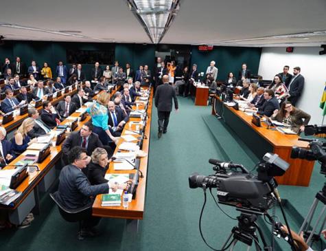 Presidente da Comissão de Constituição e Justiça (CCJ) da Câmara, deputado Felipe Francischini (PSL-PR)