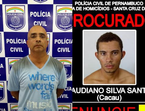 Suspeito de ter mandado matar radialista foi preso nessa segunda, em Santa Cruz do Capibaribe