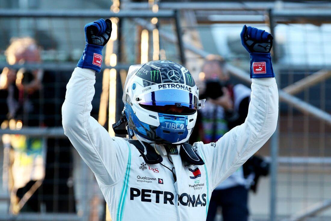 Valtteri Bottas é da Mercedes na temporada 2019