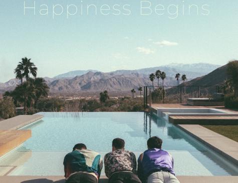 "Capa do novo álbum "" Happiness Begins"""