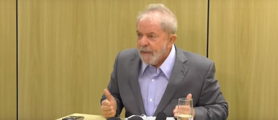 O ex-presidente Lula foi preso no dia 7 de abril de 2018
