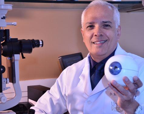 Dr. Marconi Mahon avisa que a degeneração macular pode não ser revertida
