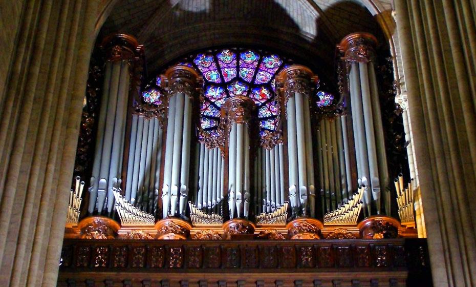 Órgão da Notre-Dame, antes do incêndio