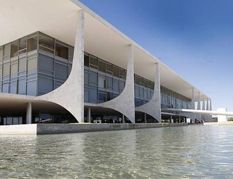 Palácio do Planalto, sede do poder executivo do Governo Federal