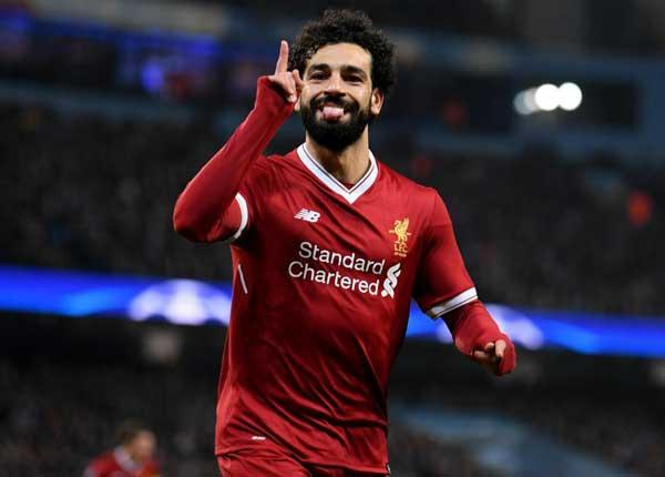 Salah é o cara do time do Liverpool