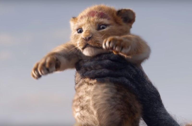 Simba no live action de 'O Rei Leão'