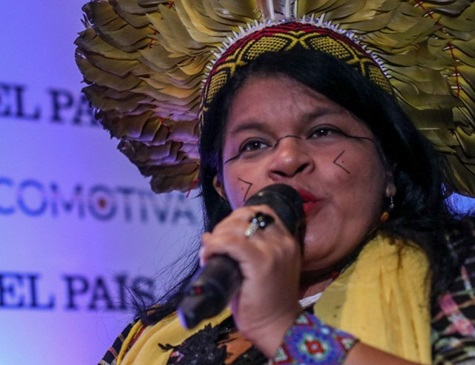 Sonia Guajajara, coordenadora executiva da Apib