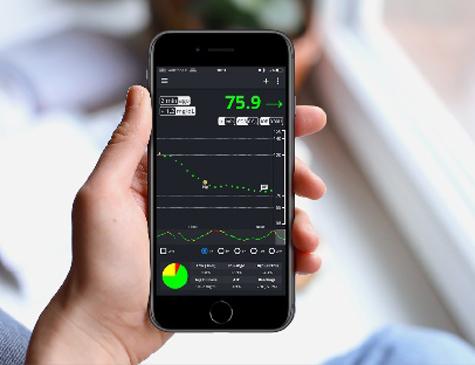 O aplicativo ajuda os pacientes no controle da diabetes