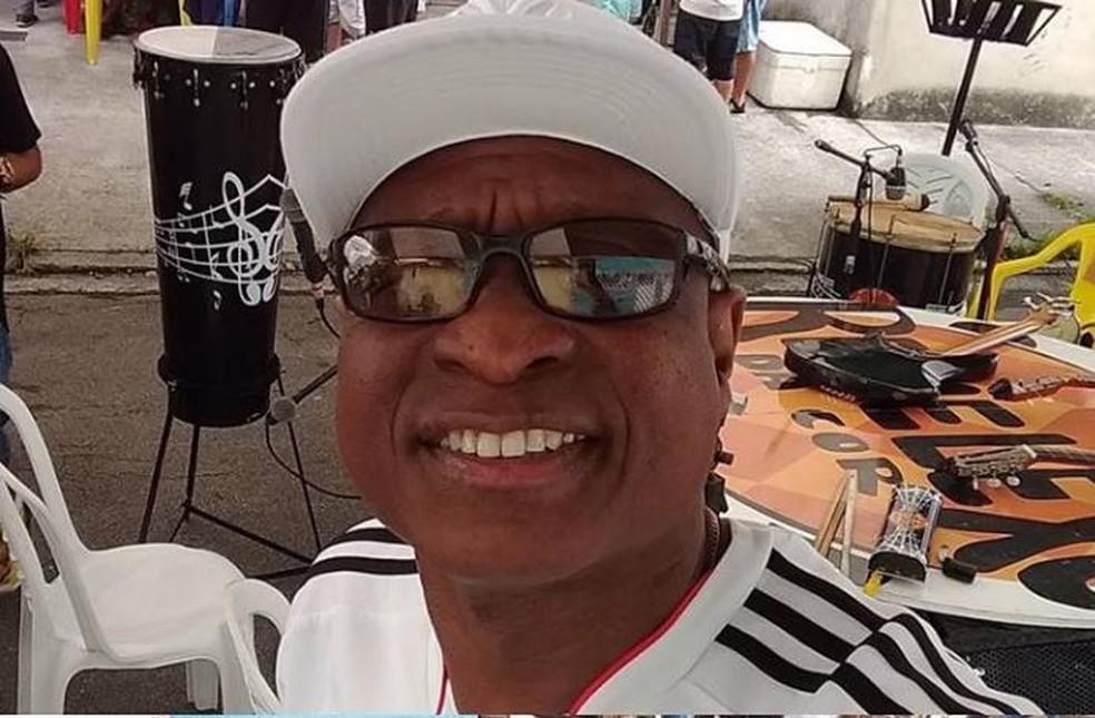 O músico Evaldo Rosa, 51, foi morto no último domingo