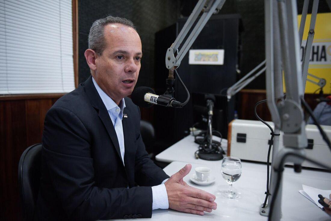 Secretário de Educação do Estado, Fred Amâncio
