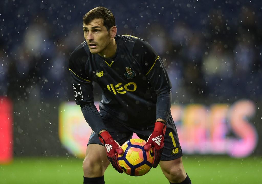 Goleiro espanhol Iker Casillas