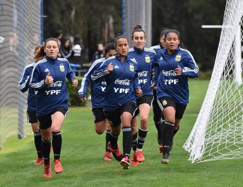 Seleção argentina de futebol feminino