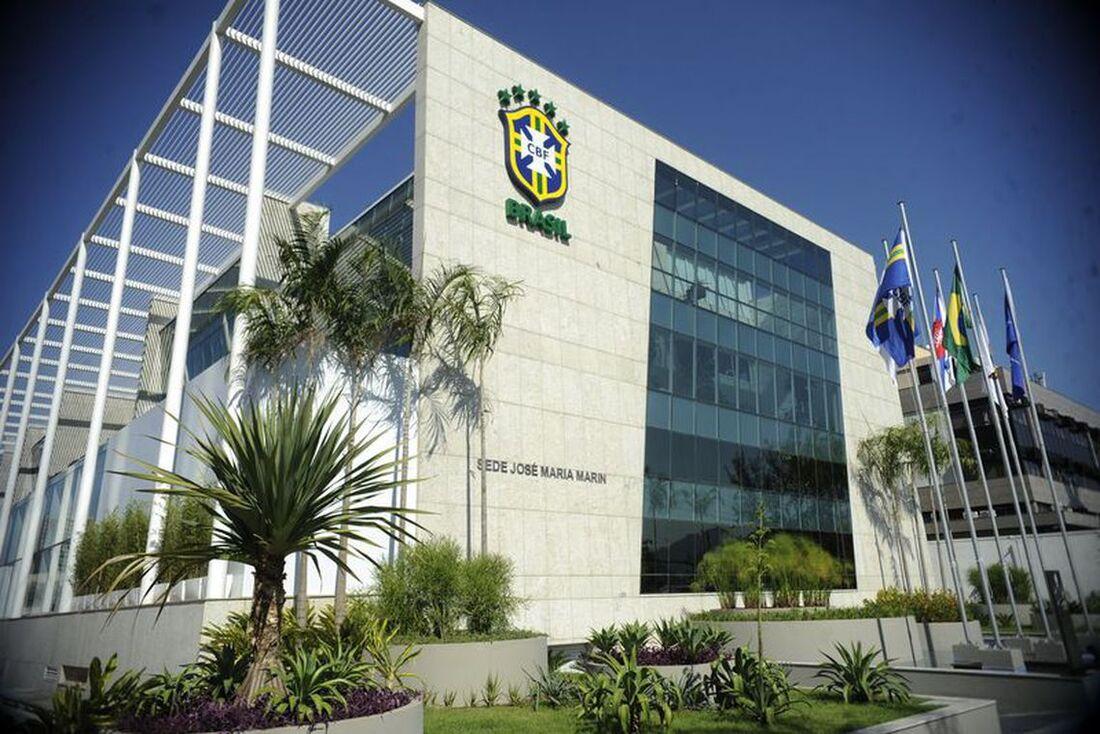 Prédio sede da Confederação Brasileira de Futebol (CBF)