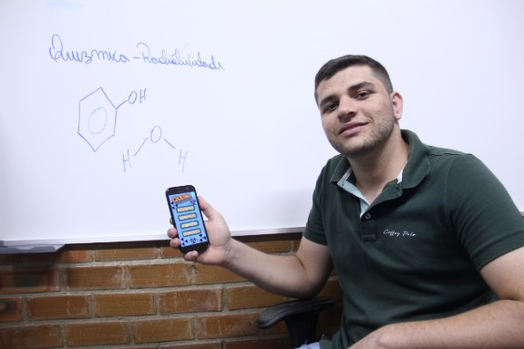 Cícero desenvolveu aplicativo inédito
