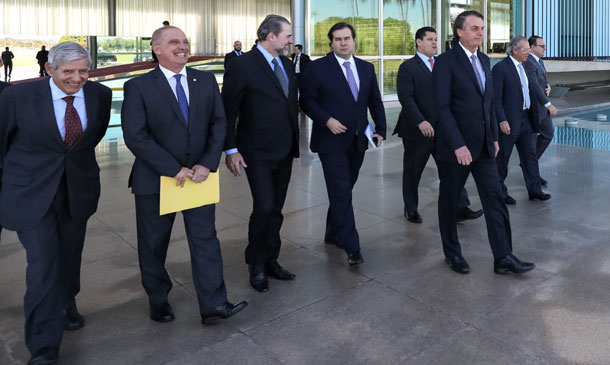 Encontro de Bolsonaro com Legislativo e Judiciário