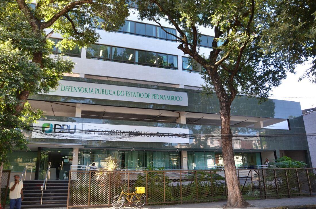 Central de Atendimento da Capital da Defensoria Pública de Pernambuco
