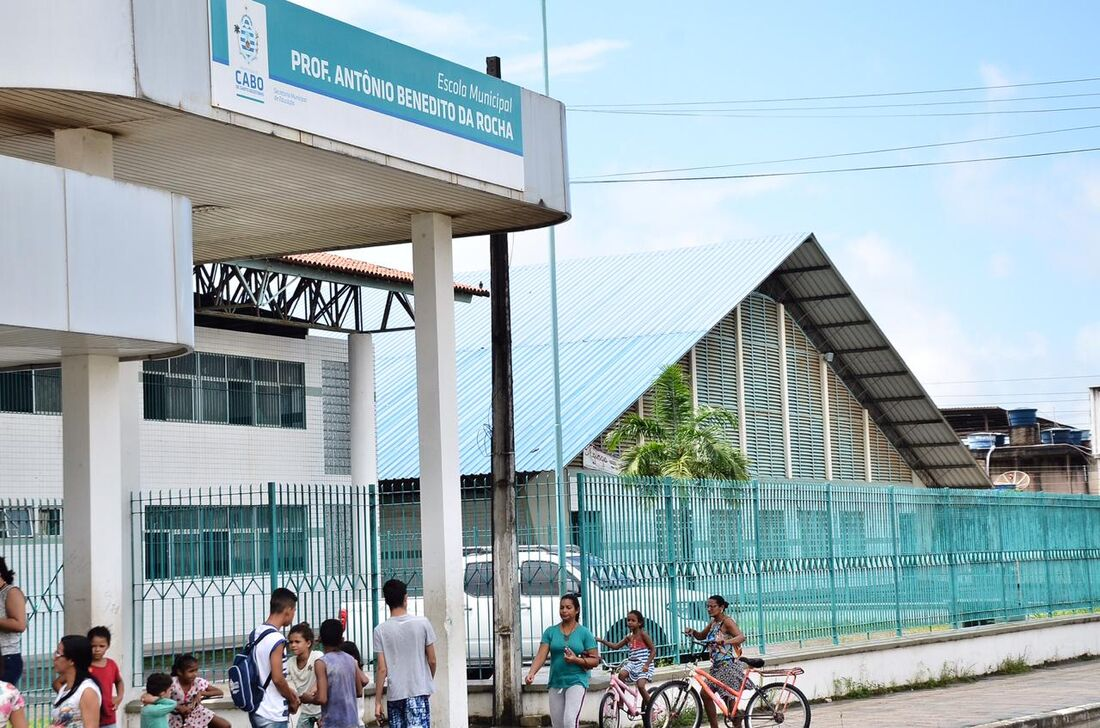 Crime ocorreu na Escola Professor Antônio Benedito da Rocha