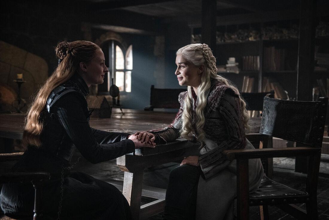 """Personagens femininas, como Sansa e Daenerys, são as favoritas dos fãs de """"Game Of Thrones"""""""