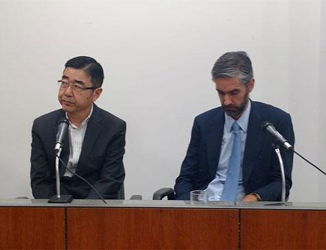 Makoto Namba e André Yassuda