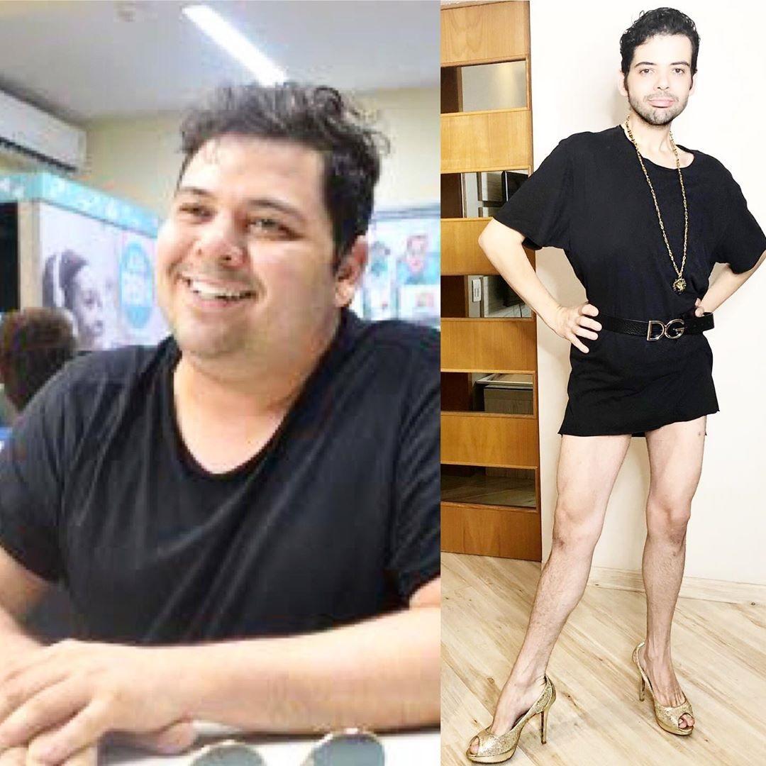 Humorista Gustavo Mendes