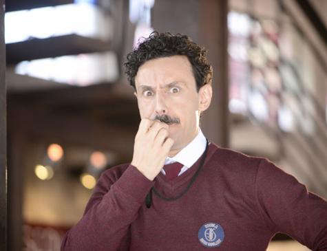 Ivan Parente é Lindomar na novela 'As Aventuras de Poliana'