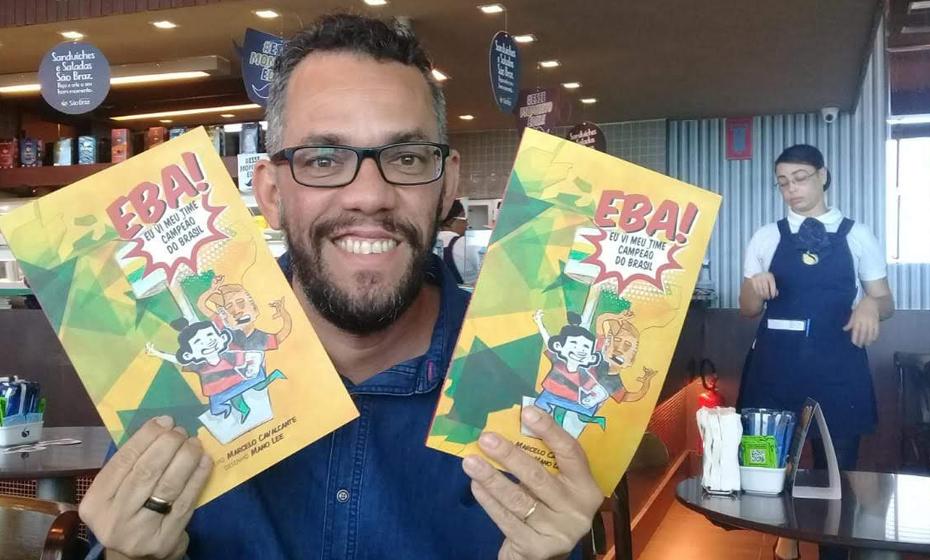 Marcelo Cavalcante, autor da HQ, ilustrada por Mano Lee
