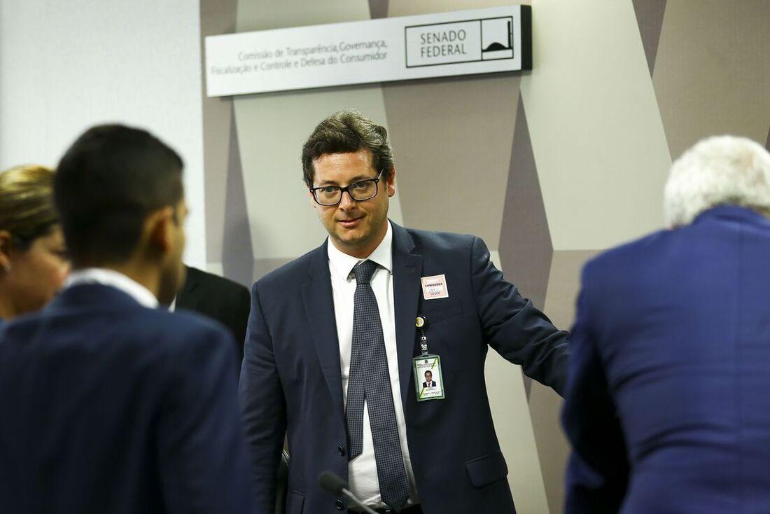 Secretário especial de Comunicação Social da Presidência da República, Fabio Wajngarten